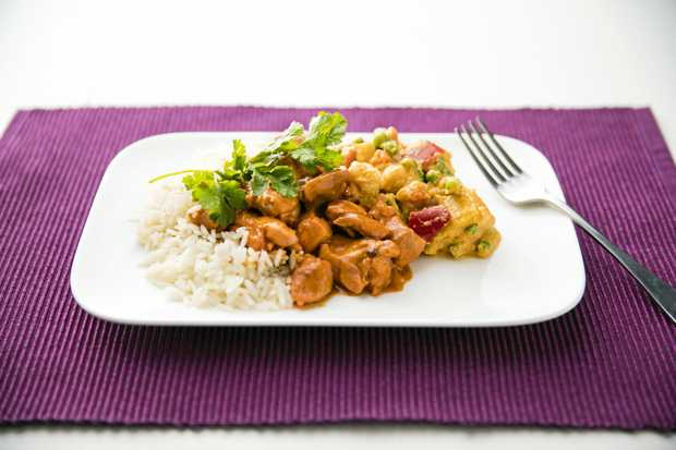 Healthy meals home delivered as part of home care packages - Herve cuisine butter chicken ...