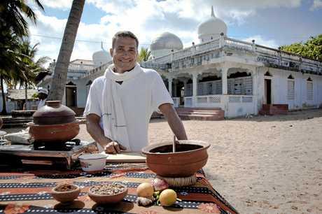 Chef Peter Kuruvita from the TV series My Sri Lanka With Peter Kuruvita, in 2012.