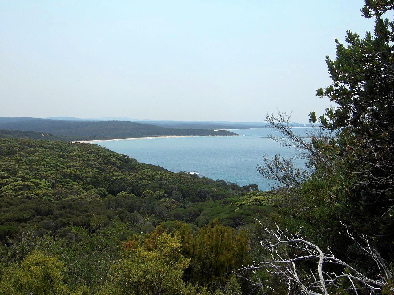 WILDERNESS COAST WALK: view from Rame Head.