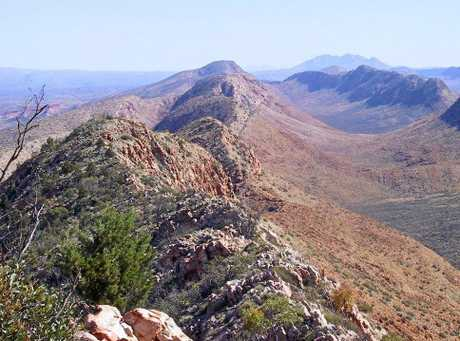 LARAPINTA TRAIL:  the views are spectacular and inspiring.