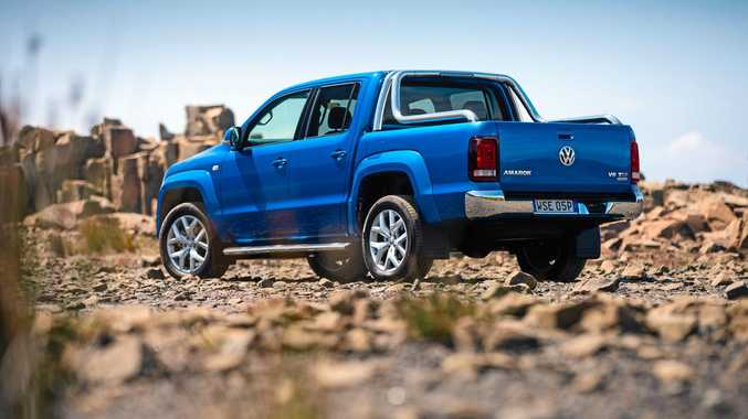 The 2016 Volkswagen Amarok Ultimate.