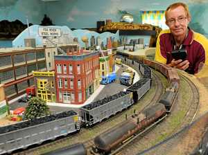 All aboard for model train club open day