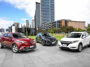 Comparison test: Toyota C-HR v Mazda CX-3 and Honda HR-V