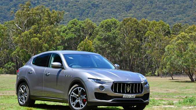 ENTRY LEVEL: Maserati Levante with diesel engine.