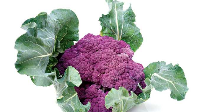 Get your garden in a purple patch with Violet Sicilian cauliflower.