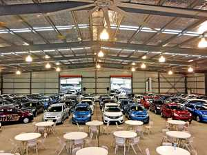 Showgrounds big shed filled with 240+ car deals