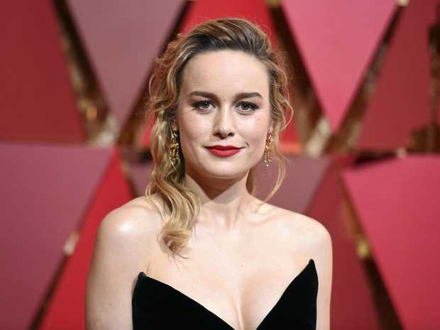 Brie Larson arrives at the Oscars on Sunday, February 26, 2017,  in Los Angeles.