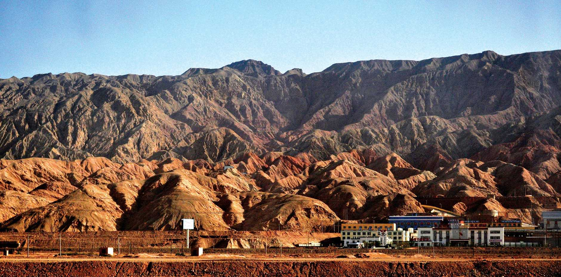Just outside of Kashgar, China's westernmost city.