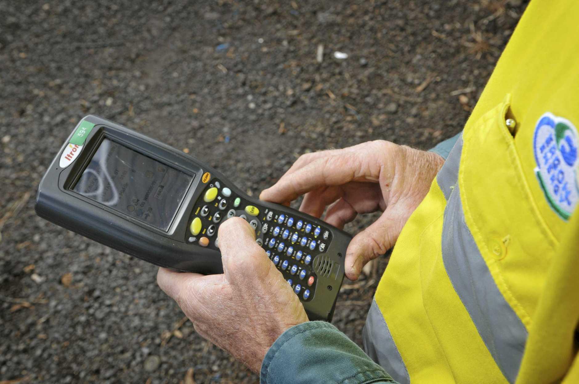Bogus meter reader on the loose.