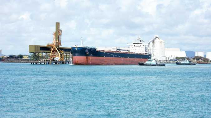 SHIP SHAPE:  Doric Liberty was in Port of Mackay