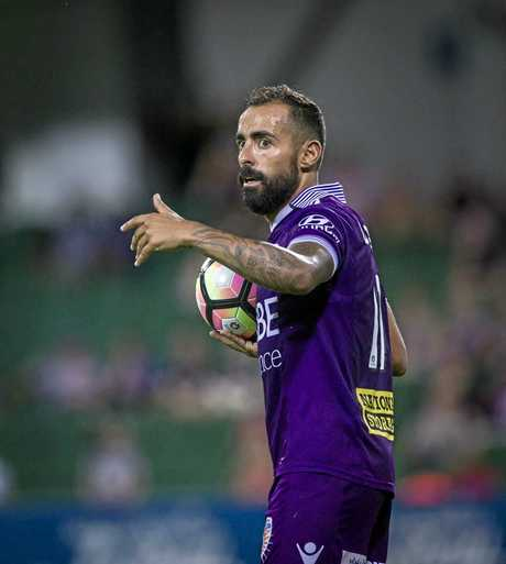 Diego Castro of the Perth Glory.