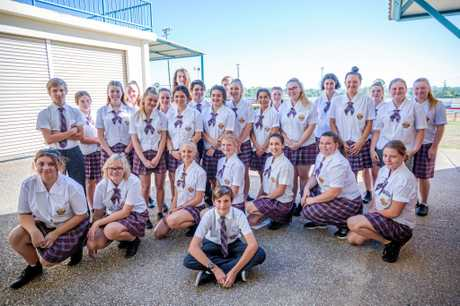 WELL DONE: Gympie State High School volunteers served everybody breakfast and then cleaned up afterwards.