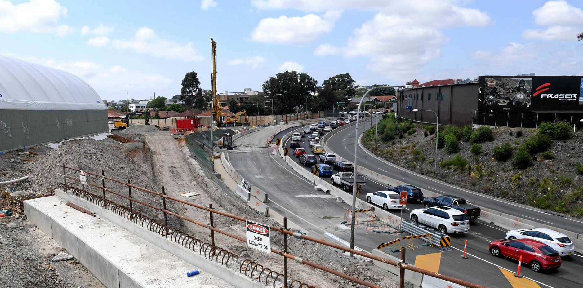 The WestConnex motorway scheme in Sydney is one of several major infrastructure projects under way around the country.