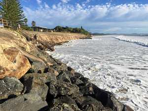 Dangerous surf conditions whipped up by wild weather
