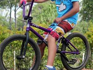 Junior BMX rider Browning's bike stolen in Maryborough