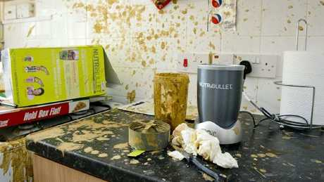 Some NutriBullet customers say their blenders have been spontaneously exploding, causing horrific injuries. Picture: The Sun