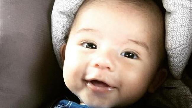 Baby Thomas has terminal cancer.