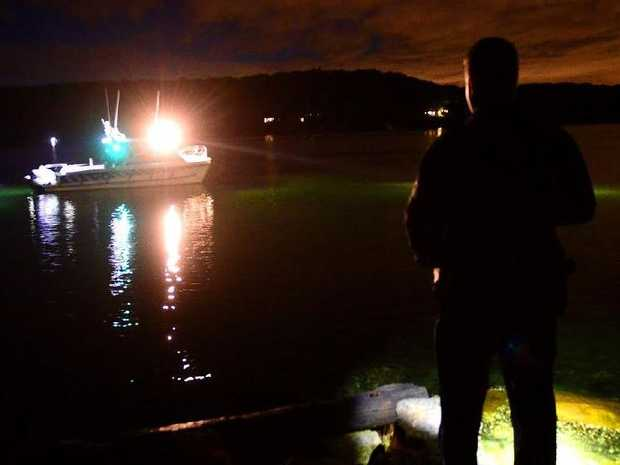 Police and SES are searching for a missing kayaker in Currumbin Waters tonight. Photo: Jeremy Piper/File