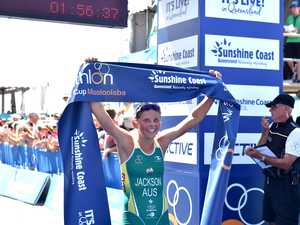 A win for the ages as Jackson salutes at Mooloolaba