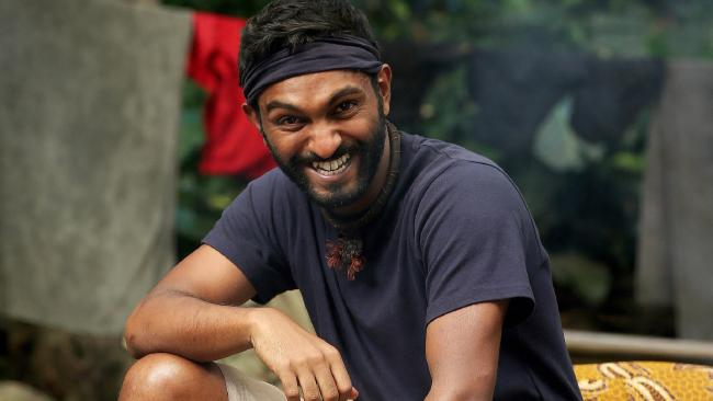 Nazeem Hussain before his I'm A Celebrity ... Get Me Out Of Here! elimination.