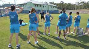 Inmates exercising at Brisbane Women's Correctional Centre.