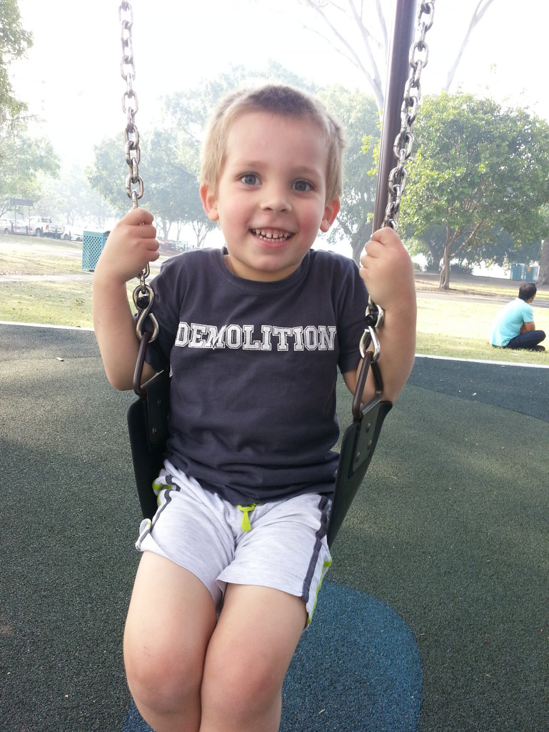 Thomas Speath has not been seen by his father, Harry, since December 5, 2014.