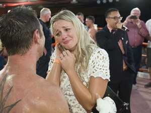 Boxer proposes after win