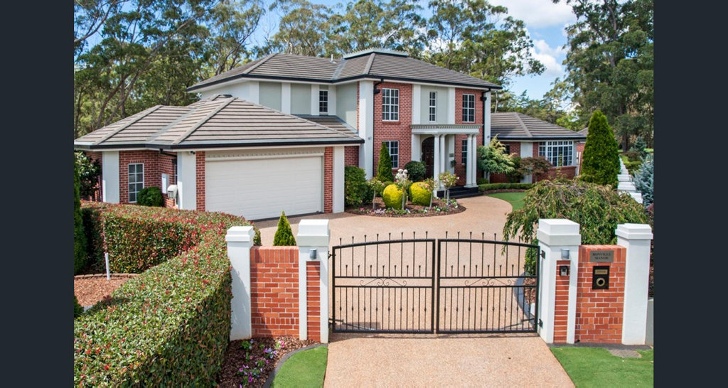 This house at 1 Bonville Court at Middle Ridge is up for sale.