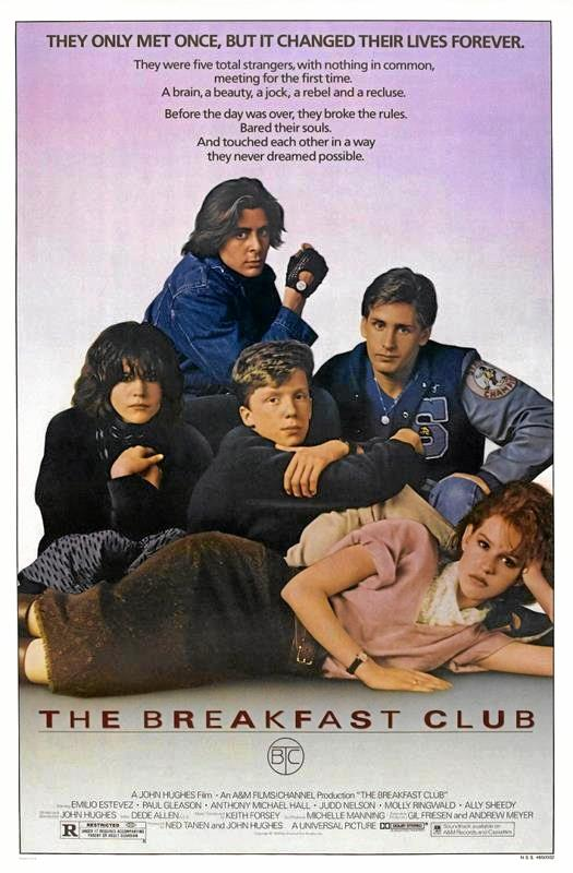 The Gympie Cinemas will screen 80s cult classic, The Breakfast Club.