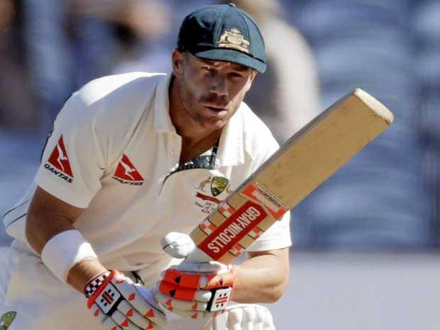 Australia's David Warner won't give verbals to India's players.