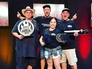 Aussie team grills NZ at barbecue comp