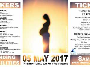 The Midwifery Society at Southern Cross University, Gold Coast invites you to attend their second annual International Day of the Midwife conference