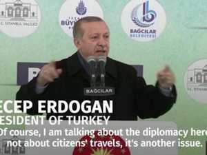 Turkish leader Erdogan calls Dutch government 'Nazis'