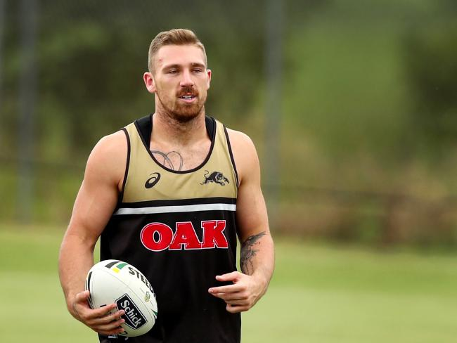 Penrith Panthers star Bryce Cartwright allegedly organised a fixer to pay his former girlfriend $50,000 to have an abortion.