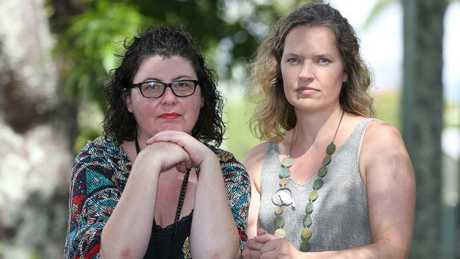 Alison Gaylard and Heidi Robertson are trying to turn the anti-vax tide in Mullumbimby, but it's a tough battle against evidence-free but entrenched ideas.