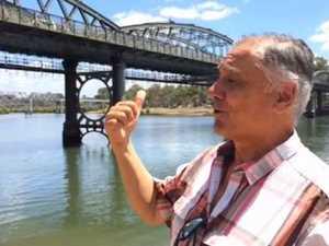 Bundy man wants a bright bridge