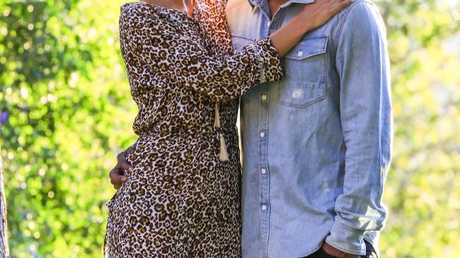 I'm A Celebrity, Get Me Out Of Here! contestant Nazeem Hussain with his wife Shaheeda Abdulla.