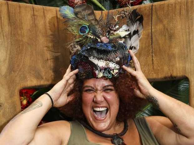 'm A Celebrity, Get Me Out Of Here! winner Casey Donovan with her crown after winning I'm A Celebrity ... Get Me Out Of Here!