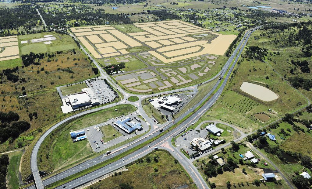BIG UPDATE: Aldi is one of several retailers set to move into the $80 million Plainland Crossing development in the Lockyer Valley.