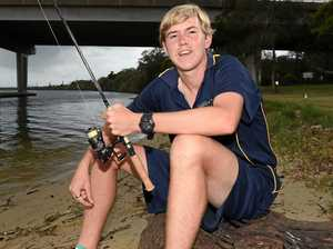 Fishing line disposal invention to save waterways