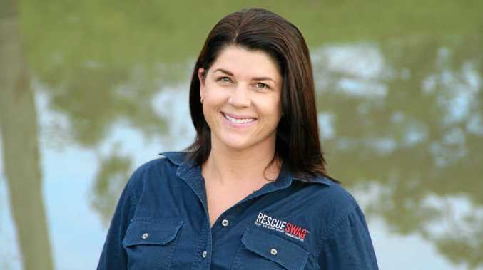 Rescue Swag founder Tracey Beikoff is a finalist for the Queensland Rural Women's Awards.