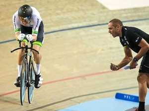 Three-medal haul from Track World Championships