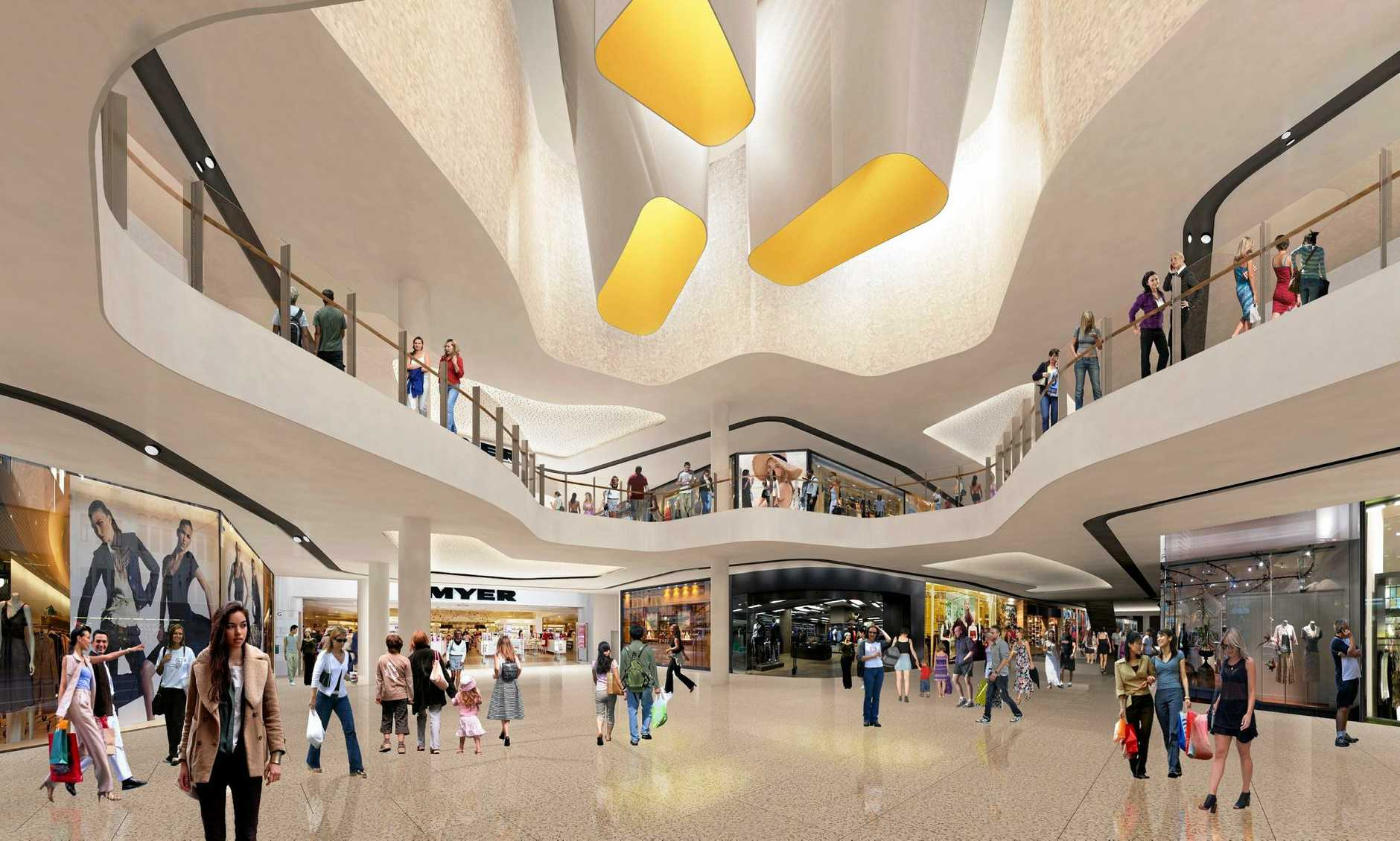 VISION: An artist's impression of the upgraded Sunshine Plaza.