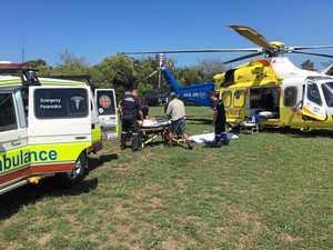 Surfer airlifted from Double Island Point with injuries