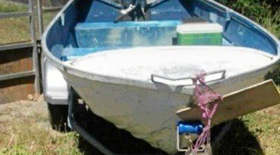 The boat is thought to have been stolen between 12am on March 10 and 12am on March 11.