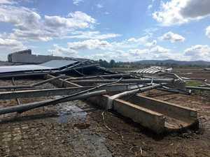 Rogue storm ransacks Mary Valley farm