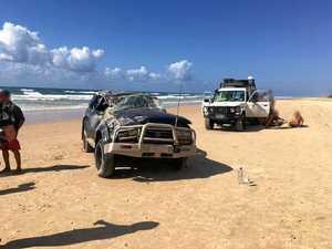 BREAKING: Multiple people injured in Fraser Island crash
