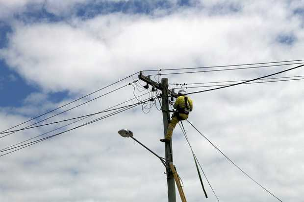 Crews were dispatched by the Townsville office of Ergon Energy just after 4pm to the sub-station in Proserpine.