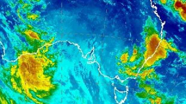 It's a stormy start to the week for many people in NSW and parts of Queensland.