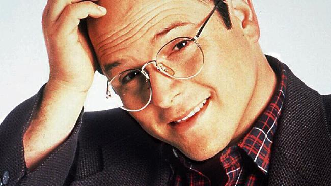 Jason Alexander as George Costanza in Seinfeld.